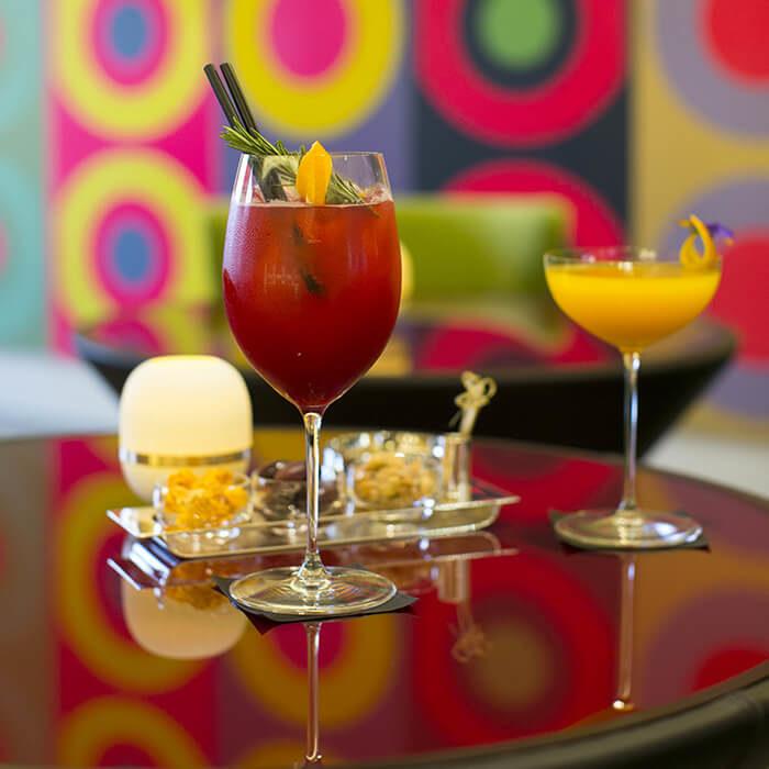 Les cocktails de Villa Maïa Hôtel 5 étoiles de luxe à Lyon