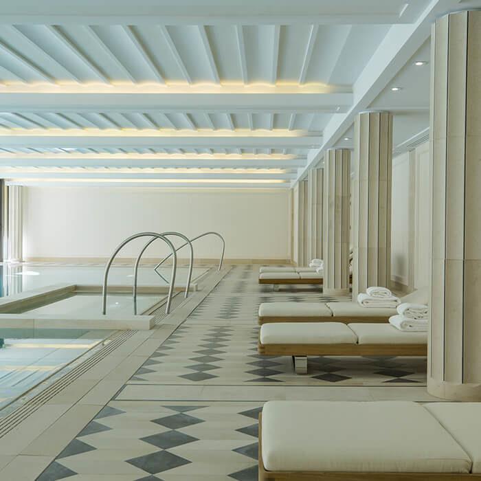 Le SPA de Villa Maïa Hôtel 5 étoiles de luxe à Lyon