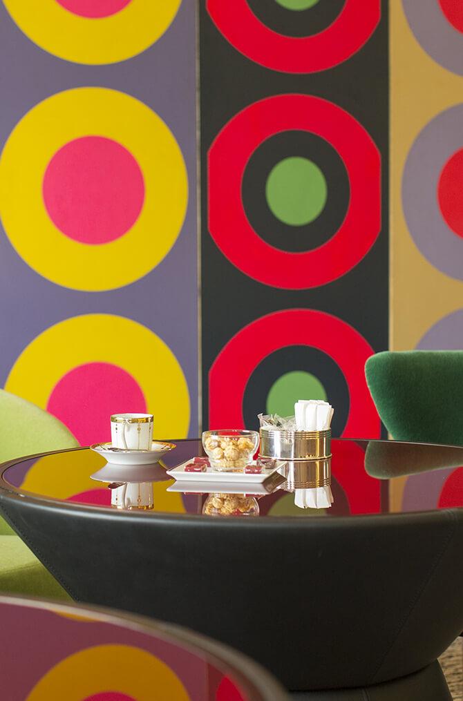 Les thé de Villa Maïa Hôtel 5 étoiles de luxe à Lyon