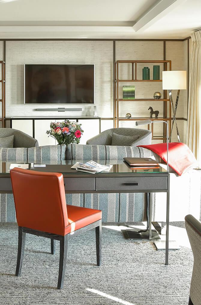 L'intérieur de l'appartement de Villa Maïa Hôtel 5 étoiles de luxe à Lyon
