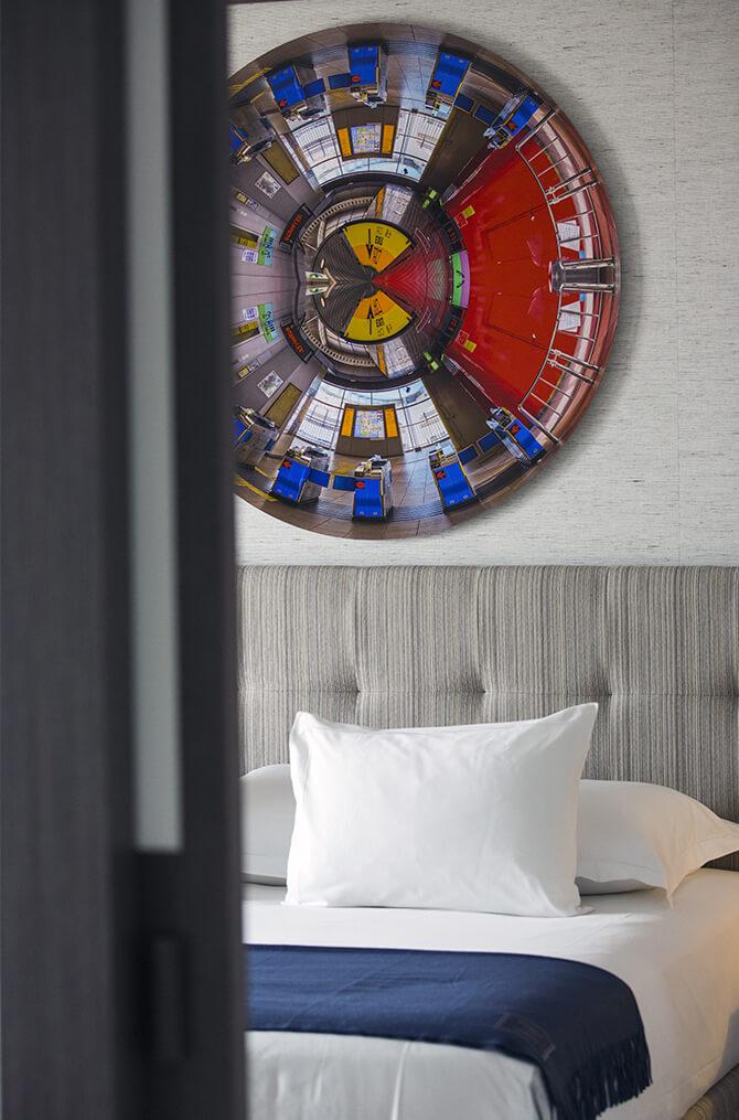 Le confort des suites de Villa Maïa Hôtel 5 étoiles de luxe à Lyon