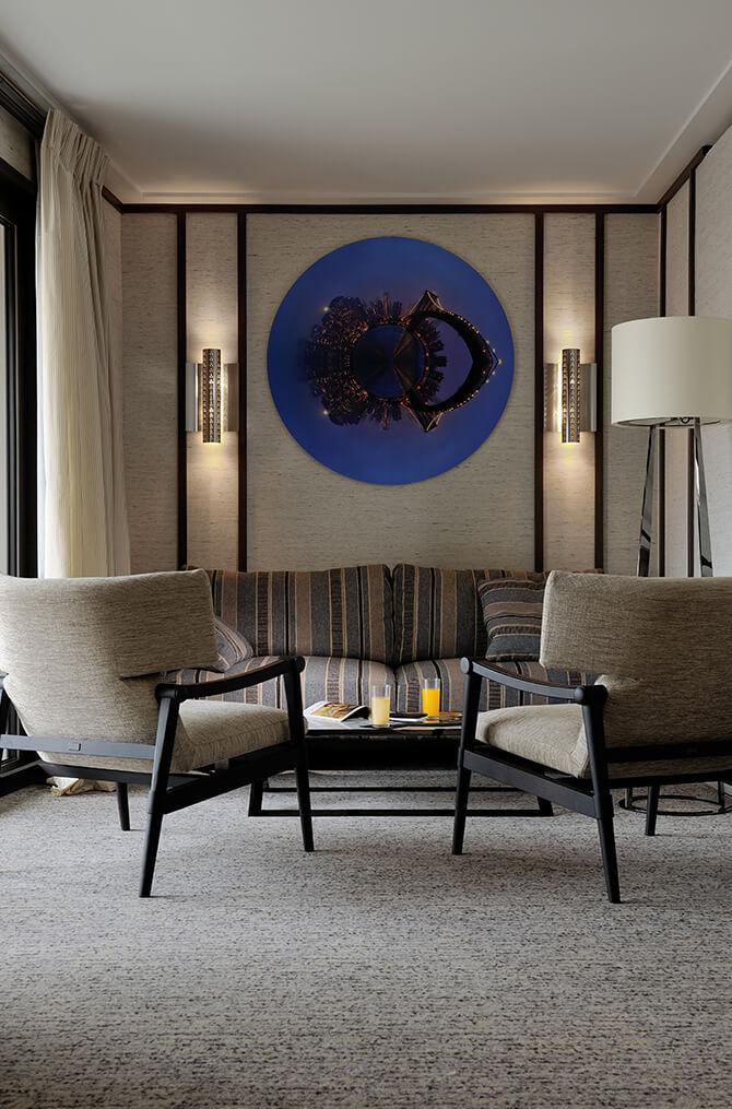 Le confort des chambres de Villa Maïa Hôtel 5 étoiles de luxe à Lyon
