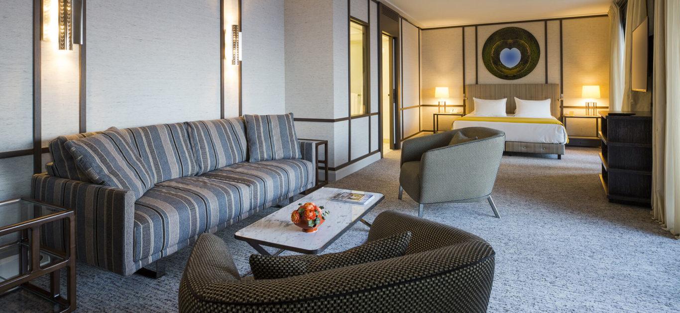 L'intérieur des suites de Villa Maïa Hôtel 5 étoiles de luxe à Lyon