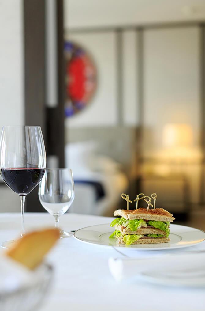 La gastronomie de l'hôtel Villa Maïa 5 étoiles à Lyon