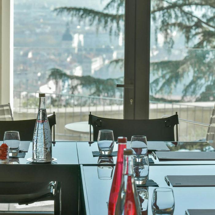 Les séminaires TETEDOIE de Villa Maïa Hôtel 5 étoiles de luxe à Lyon