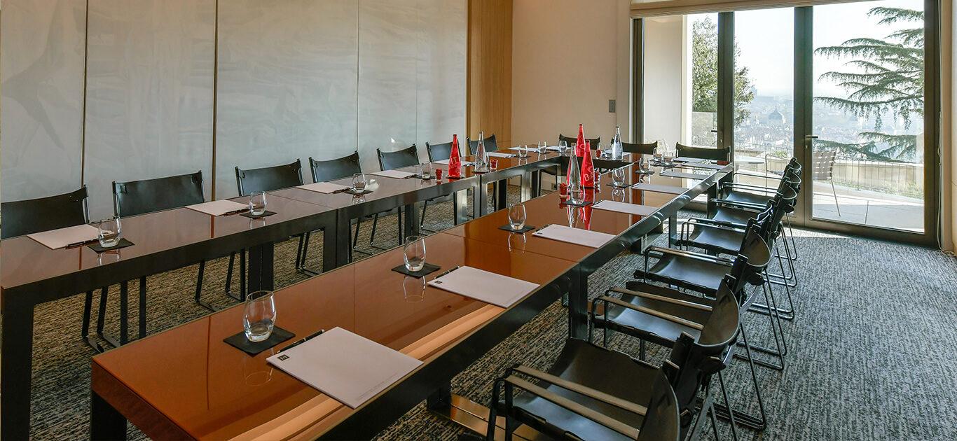 Les séminaires de Villa Maïa Hôtel 5 étoiles de luxe à Lyon