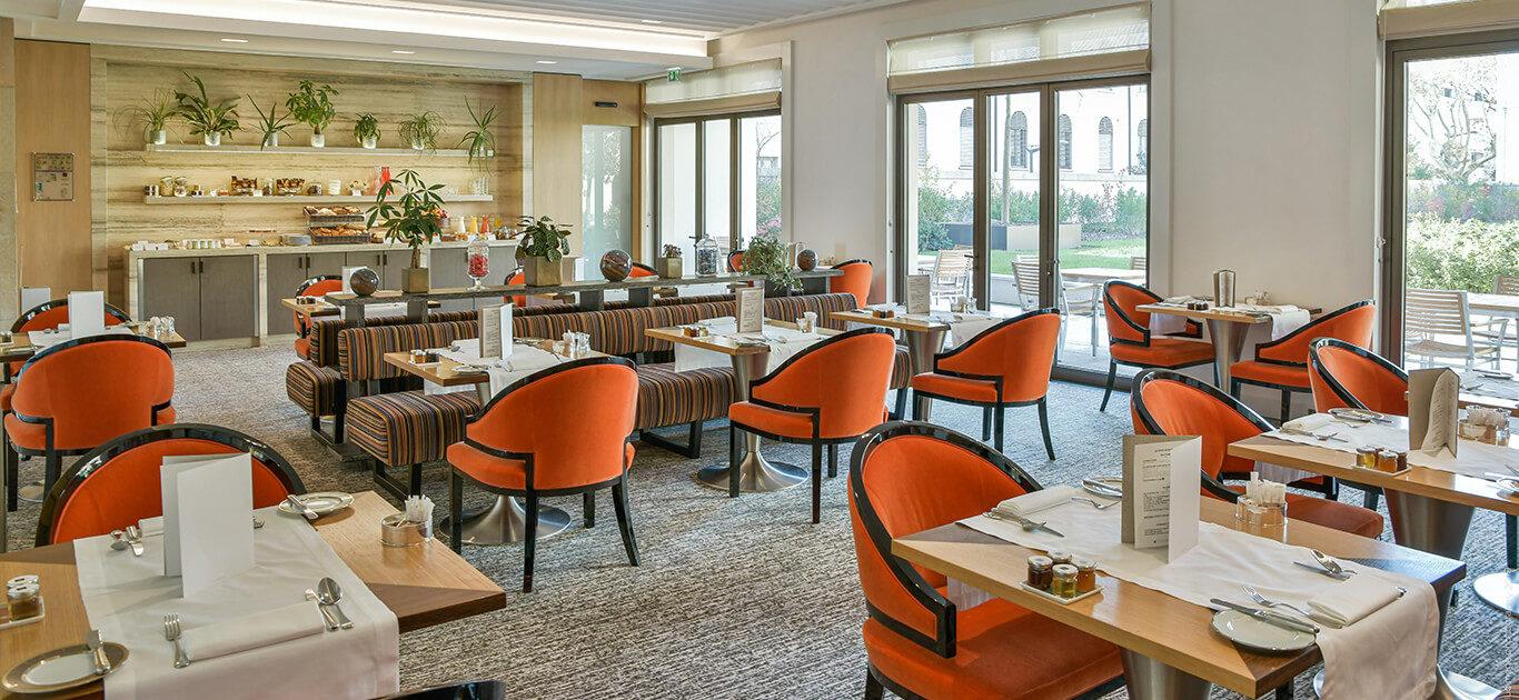 Le restaurant de Villa Maïa Hôtel 5 étoiles de luxe à Lyon