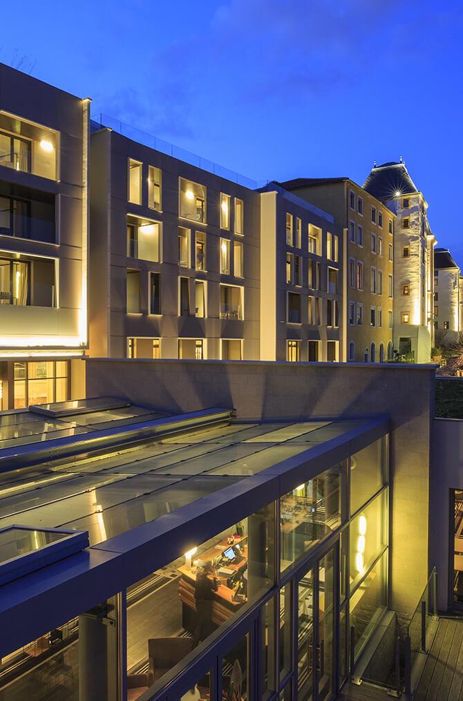 Le restaurant TETEDOIE de Villa Maïa Hôtel 5 étoiles de luxe à Lyon
