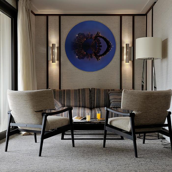 L'intérieur des chambres de Villa Maïa Hôtel 5 étoiles de luxe à Lyon